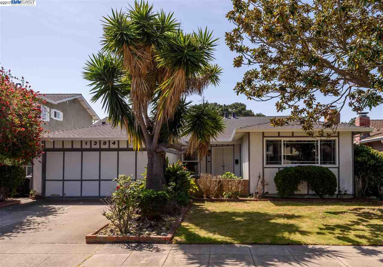 واحد منزل الأسرة للـ Sale في 1384 Marlin Avenue Foster City, California 94404 United States