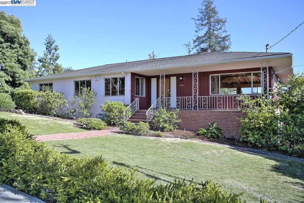 Single Family Home for Sale at 4653 Malabar Castro Valley, California 94546 United States
