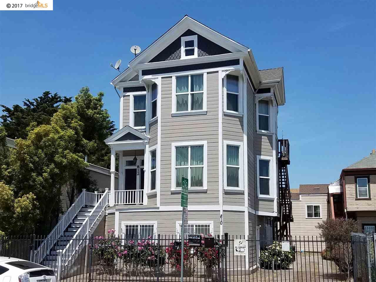 Multi-Family Home for Sale at 812 27Th Street Oakland, California 94607 United States