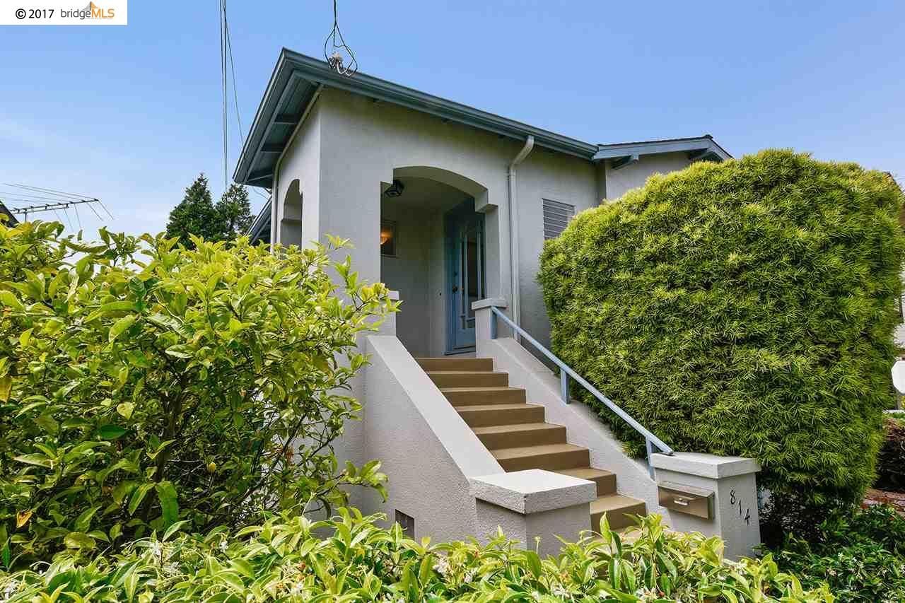 Single Family Home for Sale at 814 Adams Street Albany, California 94550 United States