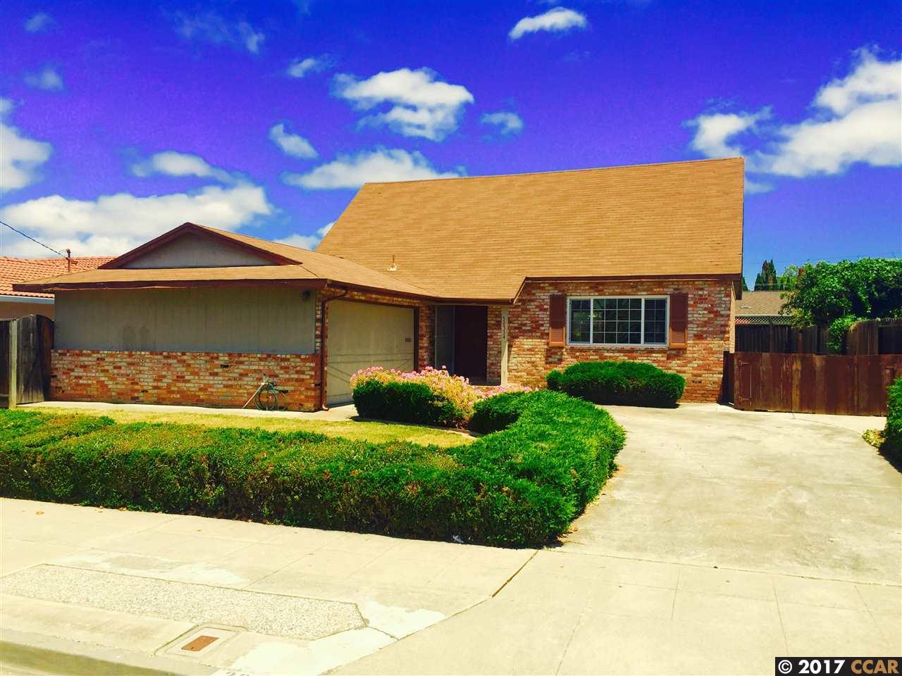 Maison unifamiliale pour l Vente à 36334 CHRISTINE Street Newark, Californie 94560 États-Unis