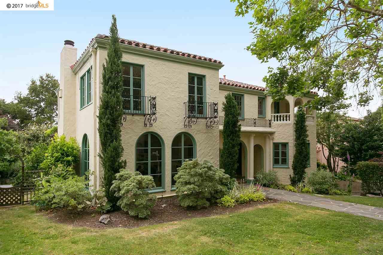 Single Family Home for Sale at 128 ALVARADO ROAD Berkeley, California 94705 United States