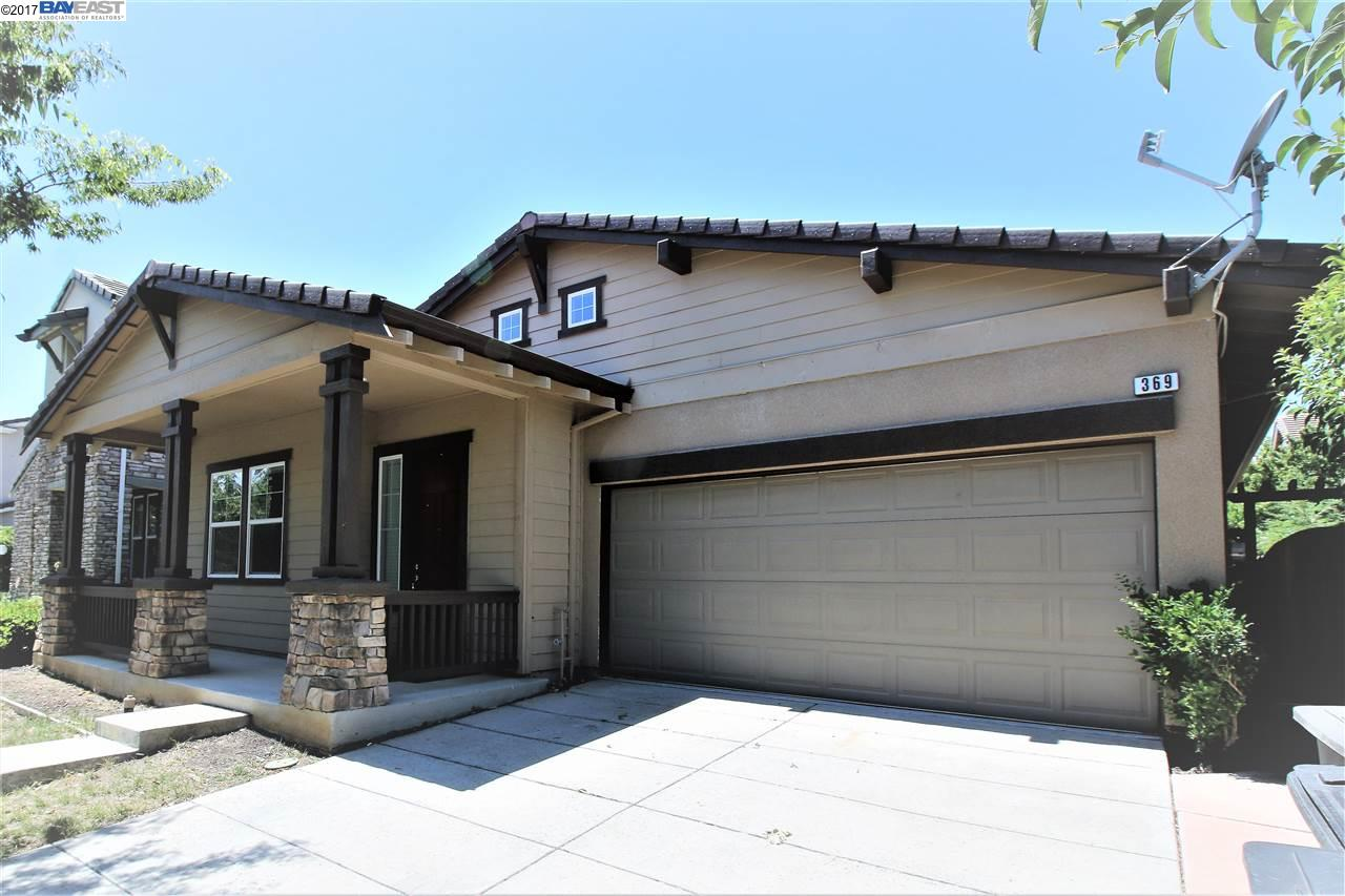 Single Family Home for Sale at 369 Chase Street Mountain House, California 95391 United States