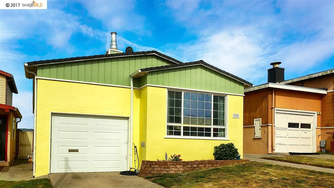Single Family Home for Sale at 737 Skyline Drive Daly City, California 94015 United States