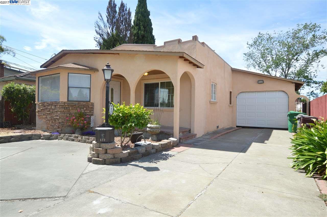 522 Grove Way, HAYWARD, CA 94541