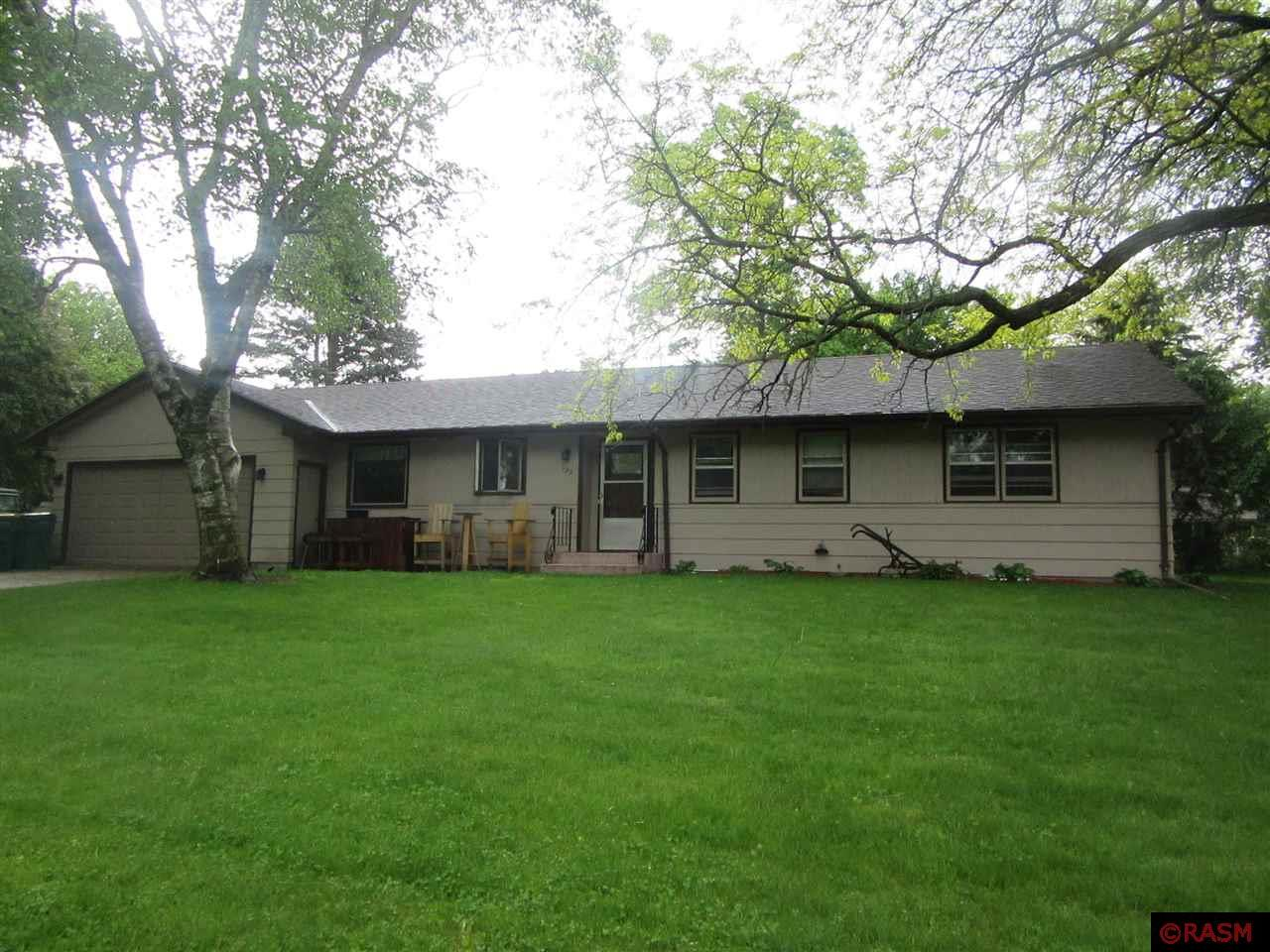 This charming rambler is situated in a quiet Le Sueur neighborhood, just around the corner from the Le Sueur Community Center, high school, and park. With 2 bedrooms accompanying the master suite on the main floor, this home provides plenty of living space for your family. The fireplaces in the living room and lower level make this a cozy home for the colder seasons and the sizeable sun room and back yard patio make this an excellent home for relaxation and entertainment during the warmer months. Call to book your private showing today!