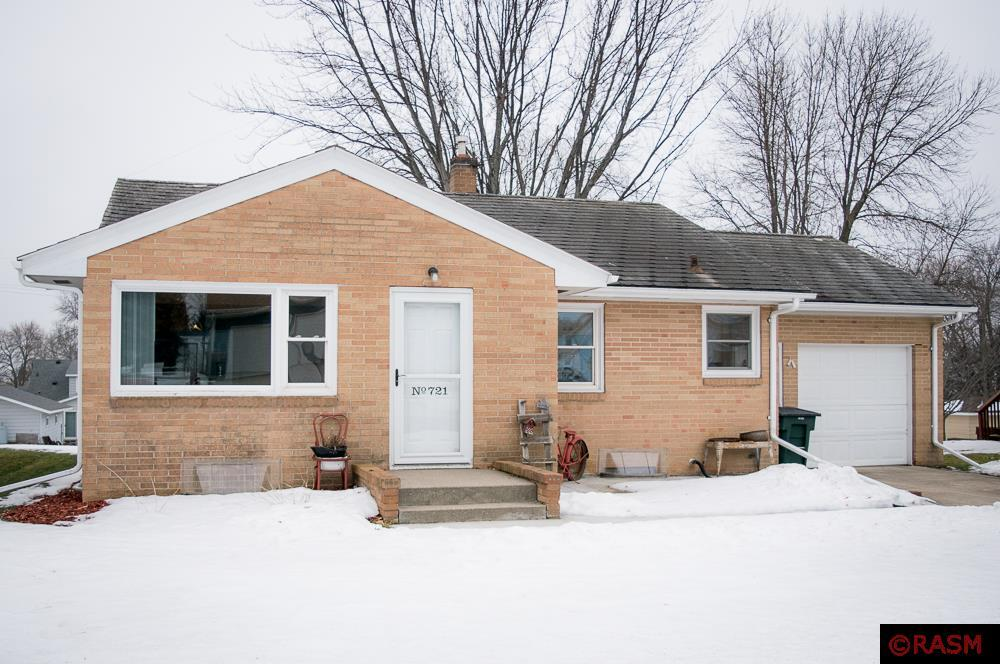 This beautiful brick home is situated just blocks from the school and Gaylord Park. With 3 bedrooms, 2 bathrooms, freshly updated flooring, plenty of storage and potential office space, this well-maintained home is move-in ready for your family!