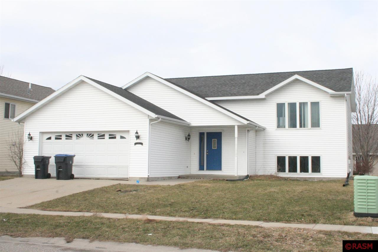 Bi-level split on Mankato hilltop with 2 bedroom, full bath, living room, dining room, kitchen, master bedroom and bedroom 2 on upper level.  Lower level with family room, 3rd and 4th bedrooms, 3/4 bathroom, utility room and laundry room.  Property being sold AS-IS.