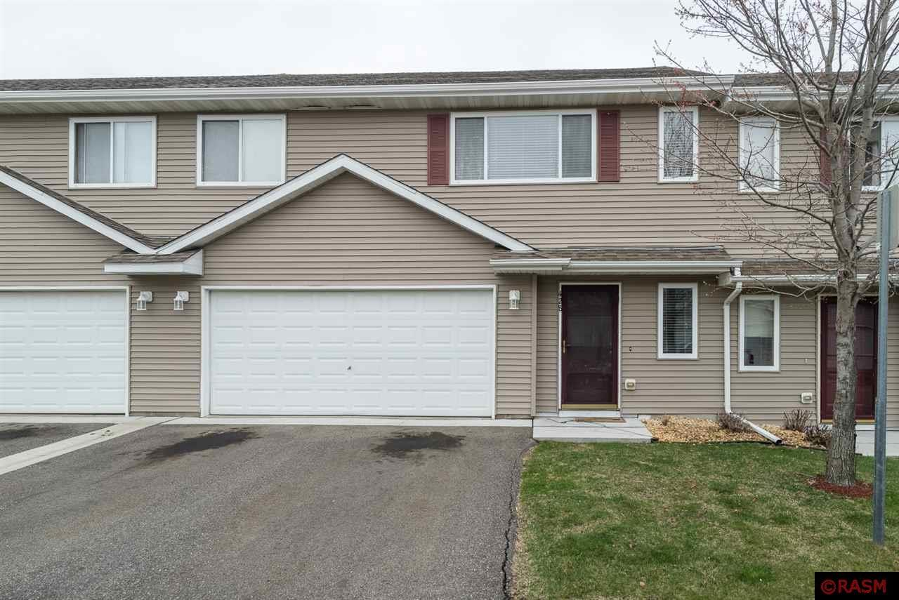3 BR town home for sale!  The main level holds an entry way, oversized closet and bedroom with its private ¾ bathroom. The upper level has an open floor plan with kitchen, dining room, living room and 2 large bedrooms.  Call today for your own private showing.
