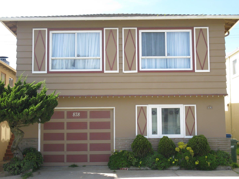 Einfamilienhaus für Verkauf beim 878 Skyline Drive Daly City, Kalifornien 94015 Vereinigte Staaten