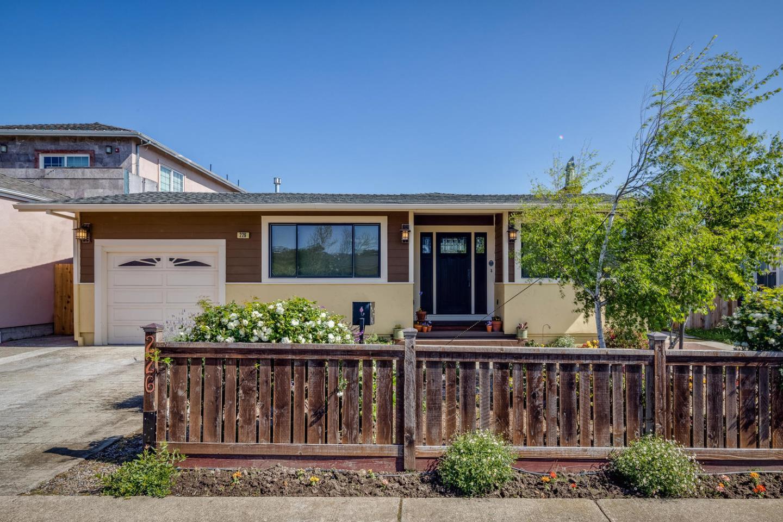 226 Del Monte, SOUTH SAN FRANCISCO, CA 94080